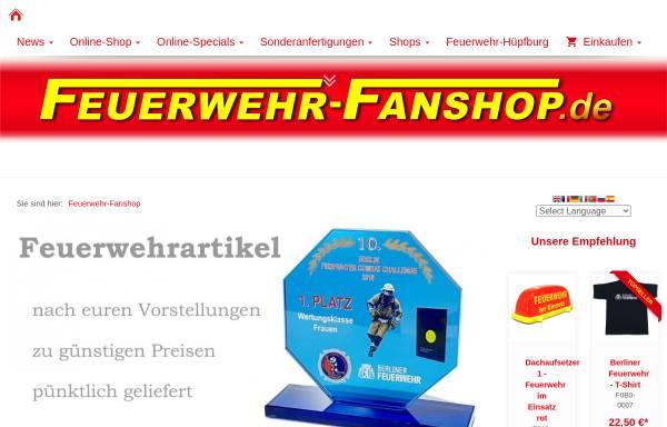Vorschau von www.feuerwehr-fanshop.de, Feuerwehr-Fanshop, Michael Lüdke