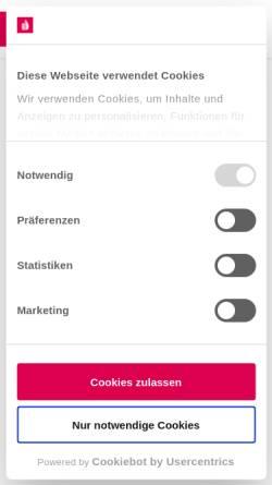 Vorschau der mobilen Webseite www.handwerk.de, Handwerk.de - DVN Deutsche Vergabenetz GmbH