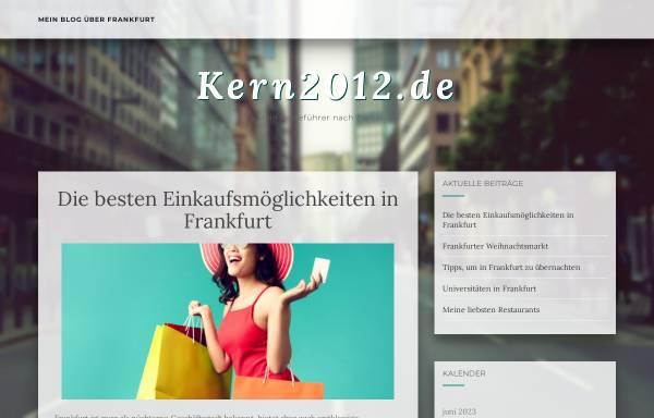 Vorschau von www.kern2012.de, Kern, Walter (MdL)