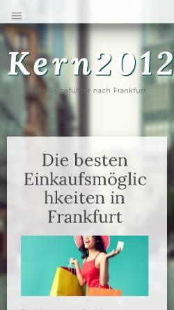 Vorschau der mobilen Webseite www.kern2012.de, Kern, Walter (MdL)
