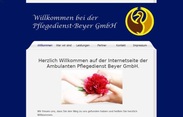 Vorschau von www.pflegedienst-beyer.de, Pflegedienst Beyer GmbH
