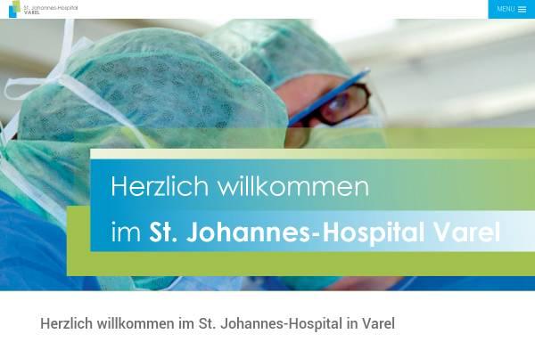 Vorschau von www.krankenhaus-varel.de, Krankenhaus Varel St. Johannes-Hospital