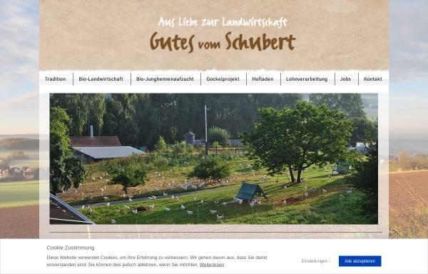 Vorschau von www.gefluegelhof-schubert.com, Geflügelhof Schubert