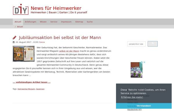 Vorschau von www.diy-info.de, Diy-Info Blog