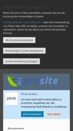 Vorschau der mobilen Webseite www.hau-tu.de, Hau-tu.de