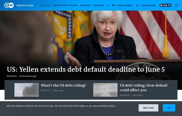 Vorschau von dw.com, Deutsche Welle (DW)