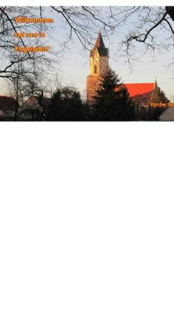 Vorschau der mobilen Webseite www.engelsdorf.net, Engelsdorf