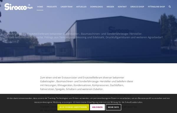 Vorschau von www.sirocco.de, Sirocco GmbH
