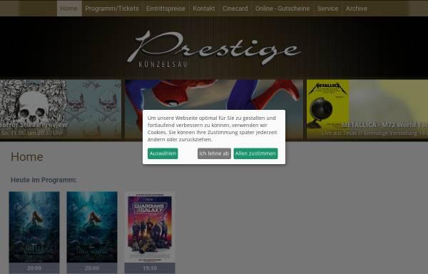 Vorschau von www.prestige-filmtheater.de, Prestige Filmtheater