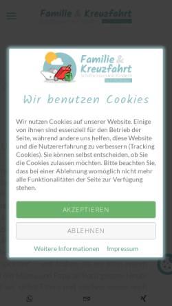 Vorschau der mobilen Webseite www.kids-on-cruise.de, Kids-on-Cruise