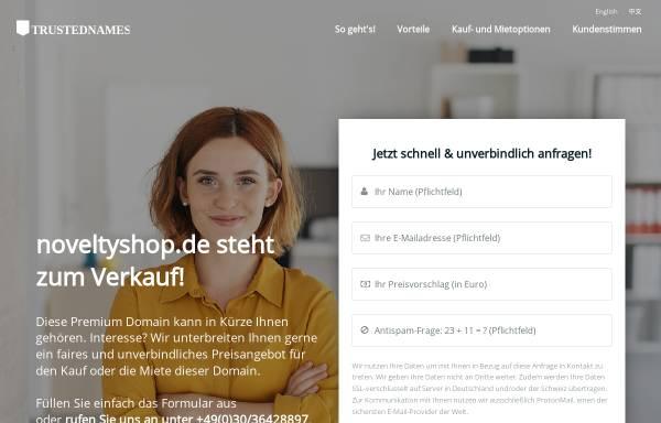 Vorschau von www.noveltyshop.de, Novelty GmbH
