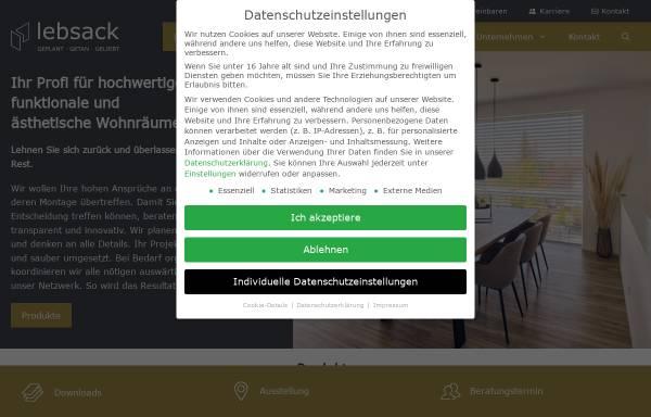 Vorschau von lebsack.de, Lebsack & Söhne GmbH