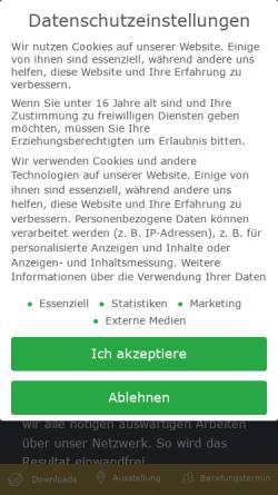Vorschau der mobilen Webseite lebsack.de, Lebsack & Söhne GmbH