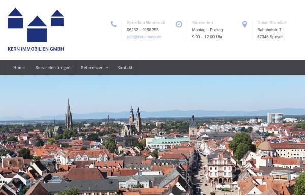 Vorschau von www.kernimmo.de, Kern Immobilien GmbH Speyer