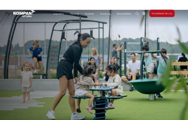 Vorschau von www.kompan.de, Kompan GmbH