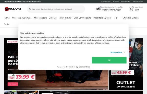 Vorschau von www.24mx.de, 24MX - You ride it, we provide it!