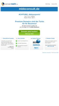 Vorschau der mobilen Webseite www.mbbconsult.de, mbb consult - Beratung für integrierten Turnaround, Sanierung und Transaktion