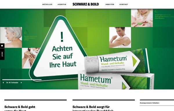 Vorschau von www.schwarzundbold.de, Schwarz & Bold Werbeagentur Karlsruhe, Frankfurt am Main