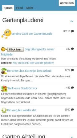 Vorschau der mobilen Webseite www.kleingaertner-saechsische-schweiz.de, Die Gartenfreunde-Pirna