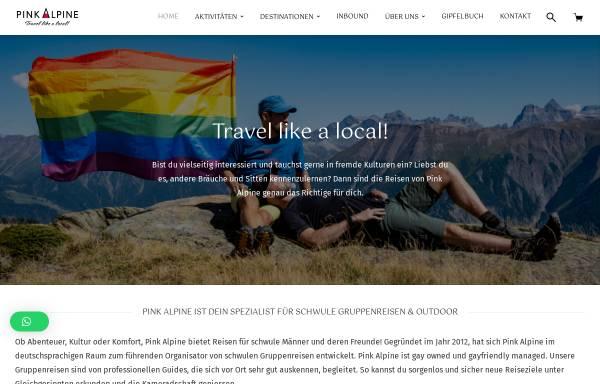 Vorschau von www.pinkalpine.ch, Pink Alpine