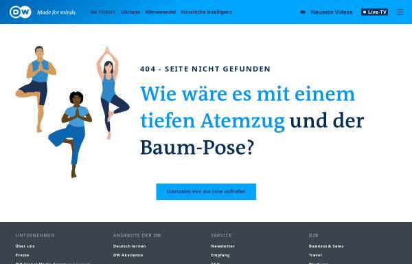 Vorschau von www.dw.com, Deutsche Welle - Fokus Osteuropa