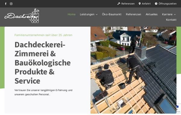Vorschau von www.dachreiter-gmbh.de, Dachreiter GmbH