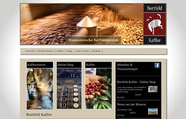 Vorschau von www.bortfeld-kaffee.de, Bortfeld Kaffee