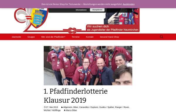 Vorschau von www.pfadfinder-neunkirchen.at, Pfadfindergruppe Neunkirchen