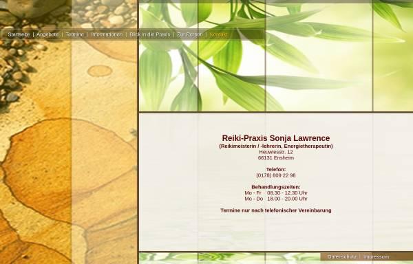 Vorschau von www.reiki-saarland.de, Reiki-Praxis Sonja Lawrence