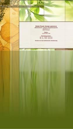 Vorschau der mobilen Webseite www.reiki-saarland.de, Reiki-Praxis Sonja Lawrence