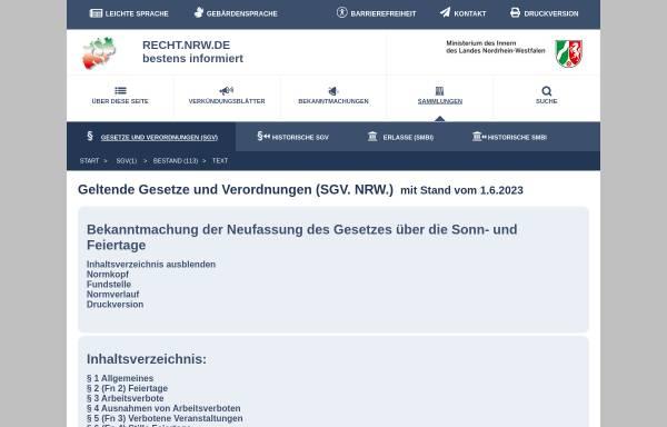 Feiertagsgesetz Berlin