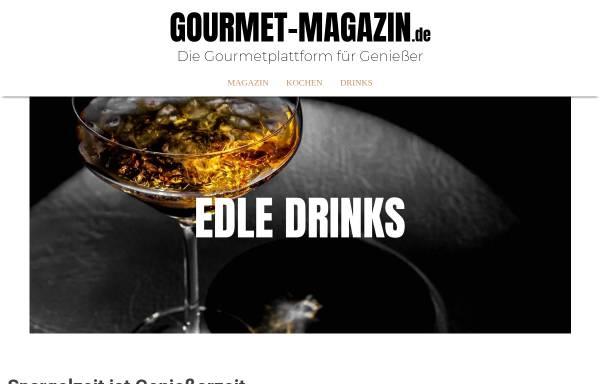Vorschau von www.gourmet-magazin.de, Gourmet Magazin