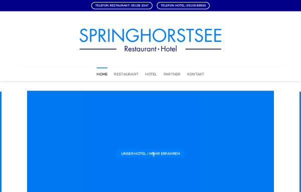 Vorschau von www.springhorstsee.de, Restaurant Am Springhorstsee