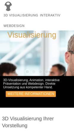 Vorschau der mobilen Webseite www.3dib.de, 3DiB, Christian Hönemann