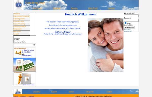 Vorschau von www.coaching2day.net, Steffen A. Brunner