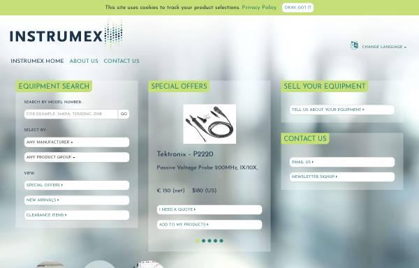 Vorschau von www.instrumex.de, Instrumex GmbH