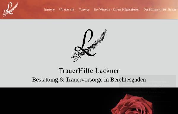 Vorschau von www.bestattung-berchtesgaden.de, TrauerHilfe Lackner - Fegg GmbH