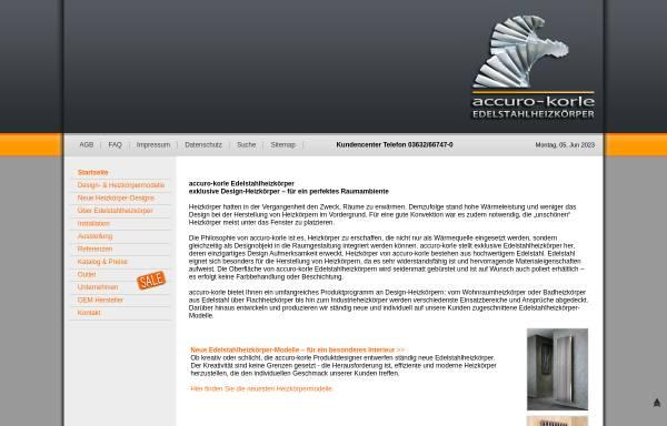 IBC Exklusiv Design GmbH in Sondershausen: Heizkörper und -kessel ...