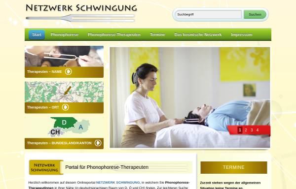 Vorschau von www.netzwerk-schwingung.de, Netzwerk Schwingung