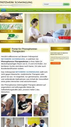 Vorschau der mobilen Webseite www.netzwerk-schwingung.de, Netzwerk Schwingung