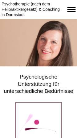 Vorschau der mobilen Webseite www.heilpraktiker-psychotherapie-bolz.de, Sigrid Bolz