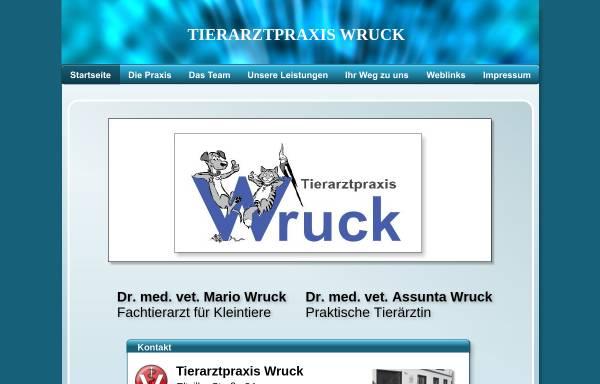 Vorschau von www.kleintierdoctor.de, Tierarztpraxis Wruck