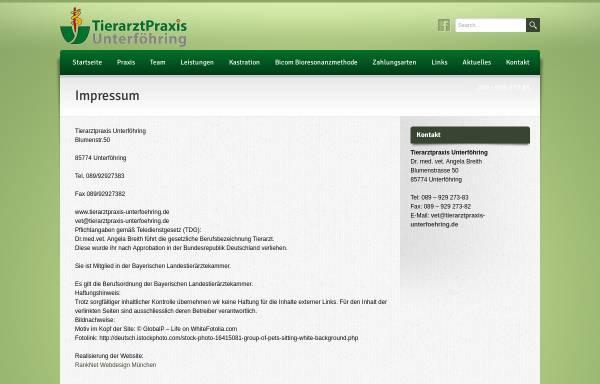 Vorschau von www.tierarzt-leupold.de, Tierärztin Britta Leupold