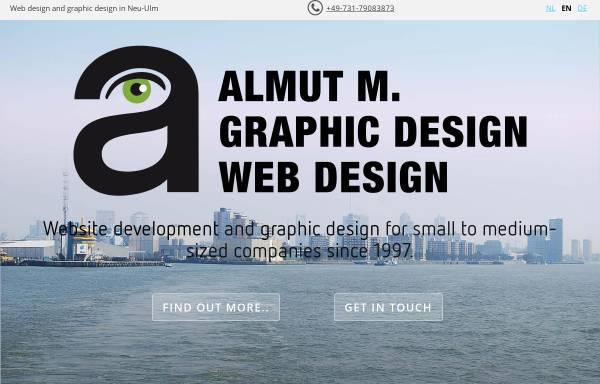 Vorschau von www.almut-m.de, Almut M., Agentur für Grafik Design und Webdesign - Almut Müller