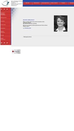 Vorschau der mobilen Webseite www.zett-personal.de, Christina Zett - Dipl.-Betriebswirtin