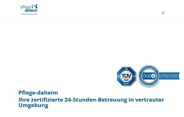 Vorschau von www.pflege-daheim.at, Pflege-Daheim.at GmbH