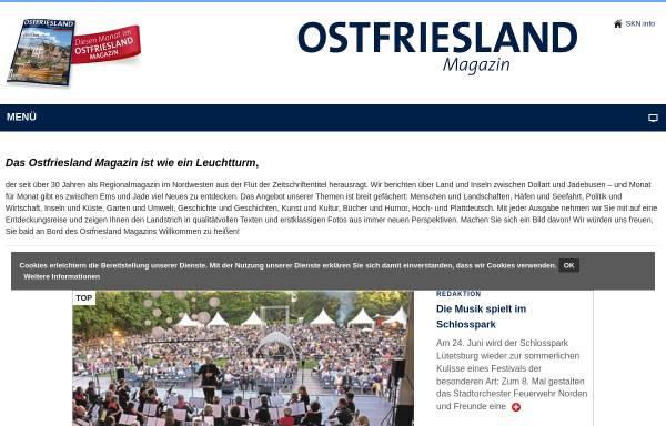 Vorschau von www.ostfriesland-magazin.de, Ostfriesland-Magazin