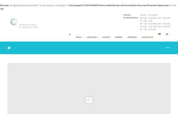 Vorschau von www.zahnarzt-echterdingen.de, Dr. med. dent. Erol Bilali und Dr. med. dent. Alexander Kühn