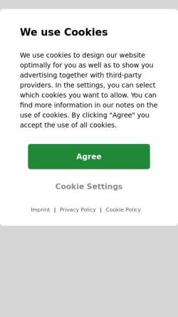 Vorschau der mobilen Webseite www.horst-becker.de, Becker, Horst (MdL)