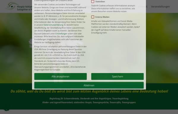 Vorschau von www.hospiz-initiative-salzgitter.de, Hospiz-Initiative Salzgitter e.V.